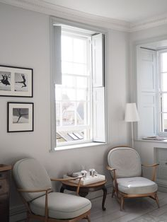 Ercol armchairs. Travel: Chapel House Penzance review