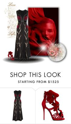 """Alexander McQueen x"" by xpinkplaymatex ❤ liked on Polyvore featuring Alexander McQueen and Giuseppe Zanotti"