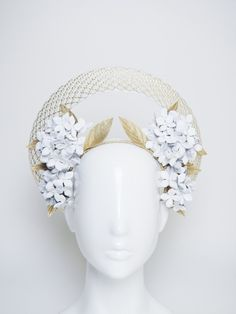 Golden Days - @allportmillinery AW #millinery Collection. #hatacademy