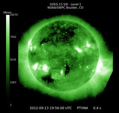 Strongest solar flare and radiation storm since 2005 hitting Earth Information About Space, Aurora Forecast, Earth's Magnetic Field, Weather Predictions, Solar Activity, Solar Power System, Natural Disasters, Science Nature