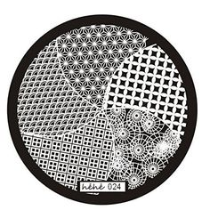 WILLTOO 2016 Nail Art Image Stamp Stamping Plates Manicure Template Hehe Series 024 * Startling big discounts available here : Beauty products 99 cent