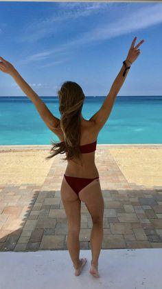 Paradise in Burgundy Bikinis, Swimwear, Paradise, Burgundy, Thong Bikini, Swimming, Beautiful, Fashion, Bathing Suits