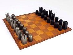 carl aubock chess set - Google Search