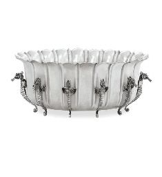 A SILVER SHELL BOWL, BY BUCCELLATI