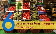 6 Ways to Keep Your Fruits and Veggies Fresher for Longer | Inhabitat - Sustainable Design Innovation, Eco Architecture, Green Building