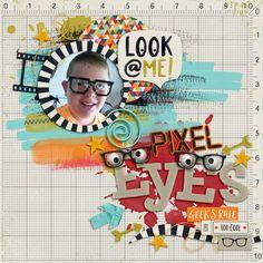 Layout: Pixel Eyes