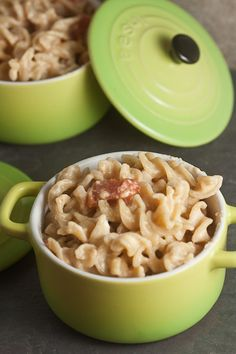 Laughing Cow stovetop mac and cheese with stewed tomatoes