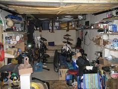 Organizing a cluttered and messy garage - Professional Organizer Kathi Burns, CPO®