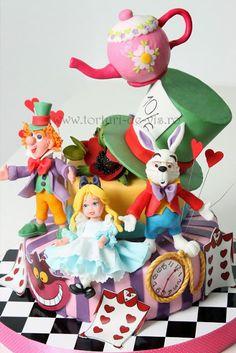 Torturi - Viorica's cakes: Alice pentru Sara