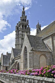 Town Church, Roscoff, Brittany, France