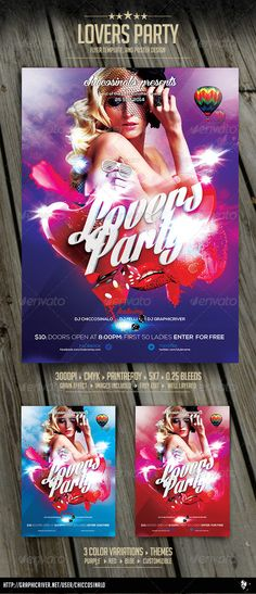 Indoor Party Flyer Template  Party Flyer And Flyer Template