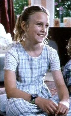 Keira Knightley as a child reminds me of Ruth Michaels in The Family Quilt. Ruth's hair is more auburn, but the light in Keira's face fits Ruth.