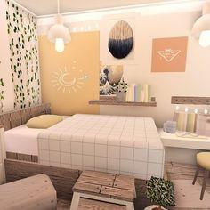 Tiny House Bedroom, Bedroom House Plans, Room Ideas Bedroom, Cute Bedroom Ideas, House Rooms, Tiny House Layout, House Layout Plans, House Layouts, Simple Bedroom Design
