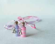 Easter Bunny Pixie Dust Necklace