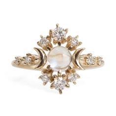 Wandering Star Cosmos Ring - Wedding & Engagement - Catbird