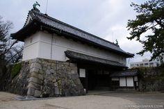 Gate of Saga Castle (Saga Prefecture, Kyushu).