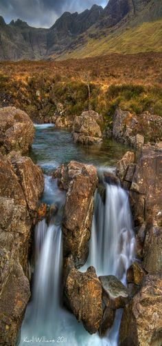 Fairy Pools, Coire na Creiche, Cuillins, Isle of Skye, Scotland | By Karl Williams