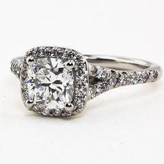 Platinum Harmony Diamond Ring