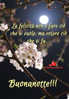 Dolce frase buonanotte, immagini belle Whatsapp - BelleImmagini.it Good Night Wishes, Thoughts, Love, 3d Paper, Facebook, Messages, Frases, Good Night, Sky