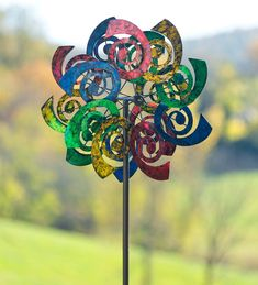 Whimsical Waves Wind Spinner | Decorative Garden Accents 99
