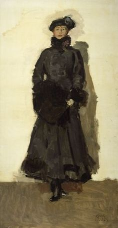 Mate Hari by Isaac Israels, Dutch painter (early 20th century). Love it!
