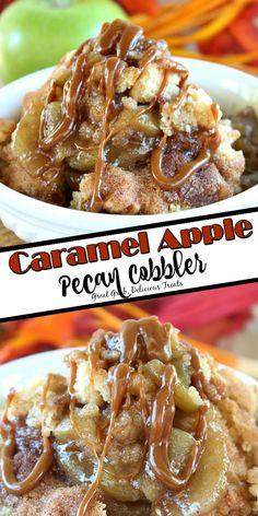 Apple Recipes, Fall Recipes, Sweet Recipes, Baking Recipes, Pecan Recipes, Holiday Recipes, Just Desserts, Delicious Desserts, Yummy Food