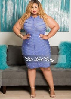 New Plus Size Sleeveless Dress with Ruffle Bottom in Coral