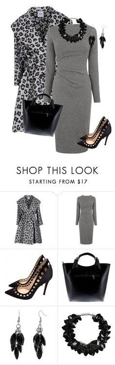"""Change Your Spots"" by toots2271 ❤ liked on Polyvore featuring Moschino Cheap & Chic, Whistles, Gianvito Rossi, Massimo Castelli, Alexa Starr and First People First"
