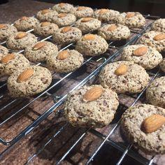 Chocolate Citrus Almond Cookies