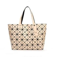 BaoBao Diamond Woman Handbag Issey Miyak Plaid bag Tote Geometry Sequins  Saser Plain Folding Briefcase Shoulder 4f0f9f1b5a75d