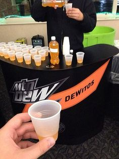 """Pepsi recently conducted a taste test of a Doritos-flavored Mountain Dew drink. While this might sound disgusting, Steve Barnes told Reddit it wasn't that bad. """"It tasted like orange with a Doritos after taste. It tasted like straight doritos afterwards though. Weirdest thing I've ever drunken,"""" he said."""