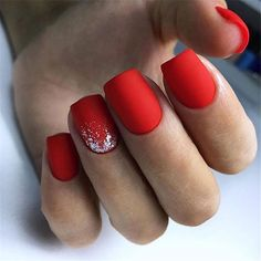 Fabulous nails reference number 7787254783 - have a look at these eye-catching, . - Fabulous nails reference number 7787254783 - have a look at these eye-catching, easy peasy design plan today. Red Acrylic Nails, Square Acrylic Nails, Shellac Nails, Square Nails, Nail Pink, Nail Nail, Acrylic Nail Designs Classy, Short Nail Designs, Holiday Nails