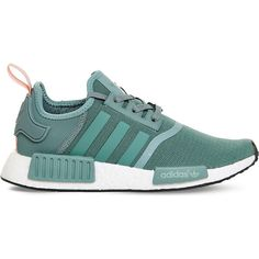 best sneakers f2db0 337ae ADIDAS Nmd mesh trainers ( 120) ❤ liked on Polyvore featuring shoes,  sneakers, round cap, adidas, lacing sneakers, round toe sneakers and laced  up shoes