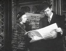 Jimmy Stewart and Margaret Sullivan in The Shop Around the Corner.