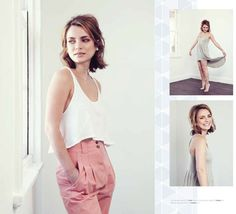 Jessica Tovey wearing Kowtow fairtrade clothing!!