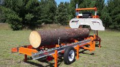 """Now we're talking... The Norwood LumberMate LM29 portable band sawmill (http://www.norwoodsawmills.com/produc...) mills logs up to 29"""" (72.5cm) in diameter into boards up to 22"""" (55cm) wide."""