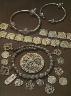 Vеrby Viking hoard, Sweden 10th century