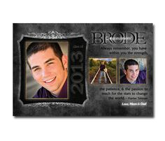 HALF PAGE Personalized Senior Yearbook Ad 6 X 9. $35.00, via Etsy.