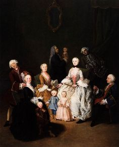 Patrician Family, Pietro Longhi  Discover the coolest shows in New York at www.artexperience...