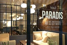 Hotel Paradis, Paris With an old-fashioned, regal feel, Hotel Paradis is the perfect place to stay and feel glamorous. Order a martini and feel fabulous — starting at $93 a night.   #ref