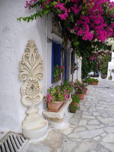 Pyrgos street, Tinos Island