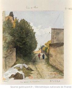 A Vendôme (les murs) : [dessin] / [Auguste Louis Marie Ottin] - 1