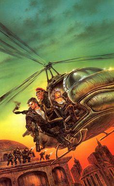 Luis Royo - Shadowrun 38