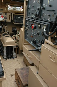 Sd.Kfz. 251/3 interior