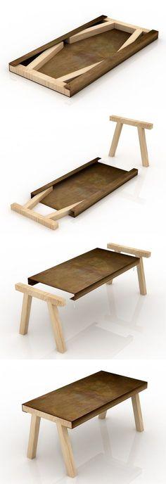formfreundlich by vivia — maderadearquitecto: Il Tavolo Mastro / Studio...