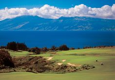 Maui .... Kapalua course - hard to concentrate when you are around such beautiful scenery... of course, it rained 15 of the 18 holes when I got to play, but I still saw some of the most gorgeous views ever
