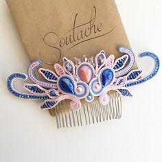 I Love Jewelry, Boho Jewelry, Beaded Jewelry, Soutache Necklace, Textile Jewelry, Leather Projects, Button Crafts, Shibori, Beaded Embroidery