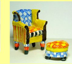 pottery chairs
