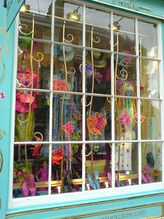 A shop window and oh so pretty...