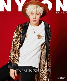20160708 NYLON JAPAN - September special cover with SHINee Taemin